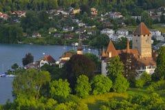 Ciudad de Thun Suiza Foto de archivo libre de regalías