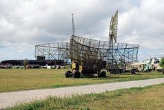 Ciudad de Togliatti Museo técnico de K g sakharov Objeto expuesto del altímetro de radio móvil del museo PRV-17 1RL141 foto de archivo libre de regalías