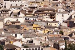 Ciudad de Toledo, panorámica de edificios históricos La Mancha de Castilla españa Imágenes de archivo libres de regalías