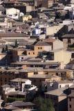 Ciudad de Toledo, panorámica de edificios históricos La Mancha de Castilla españa Fotografía de archivo libre de regalías