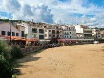 Ciudad de Tossa de Mar en España Imagen de archivo libre de regalías