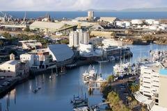 Ciudad de Townsville Foto de archivo libre de regalías