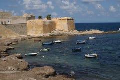 Ciudad de Trapan, Sicilia Italia Fotografía de archivo libre de regalías