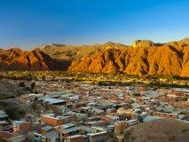 Ciudad de Tupiza Imagenes de archivo