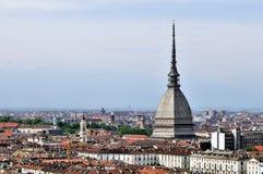 Ciudad de Turín Foto de archivo libre de regalías