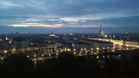 Ciudad de Turín foto de archivo