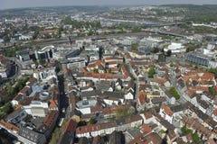 Ciudad de Ulm Imagenes de archivo