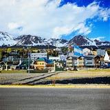 Ciudad de Ushuaia, la Argentina Imagen de archivo libre de regalías
