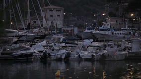 Ciudad de vacaciones Port de Soller almacen de metraje de vídeo