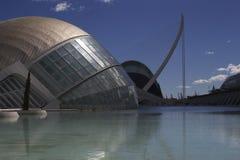 Ciudad de Valencia de artes Foto de archivo