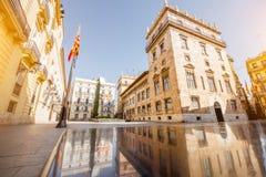 Ciudad de Valencia en España fotos de archivo