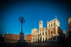 Ciudad de Valladolid Imagenes de archivo