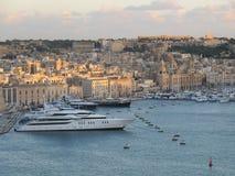 Ciudad de Valleta Imágenes de archivo libres de regalías