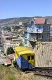 Ciudad de Valparaiso, Chile foto de archivo