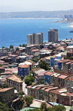 Ciudad de Valparaiso, Chile fotos de archivo