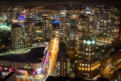 Ciudad de Vancouver Fotografía de archivo libre de regalías