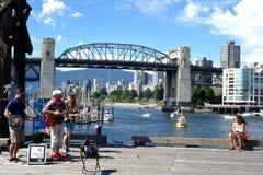 Ciudad de Vancouver, Canadá Imagenes de archivo
