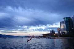 Ciudad de Vancouver, Canadá Imágenes de archivo libres de regalías