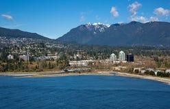Ciudad de Vancouver del oeste Fotos de archivo libres de regalías