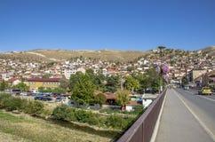 Ciudad de Veles en Macedonia imágenes de archivo libres de regalías