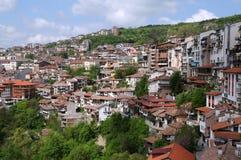 Ciudad de Veliko Tarnovo fotos de archivo