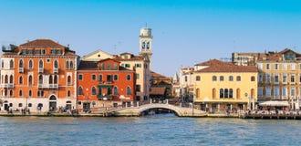 Ciudad de Venecia en un día soleado Fotografía de archivo libre de regalías