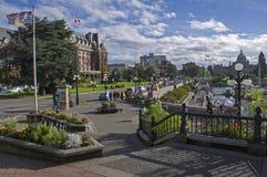 Ciudad de Victoria imagen de archivo libre de regalías