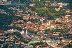 Ciudad de Vilnius, Lituania Fotografía de archivo libre de regalías