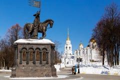 Ciudad de Vladimir, Rusia imagenes de archivo