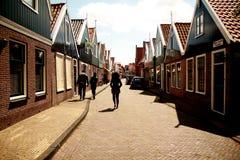 Ciudad de Volendam Fotografía de archivo