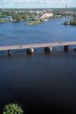 Ciudad de Vyborg imagen de archivo libre de regalías
