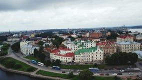 Ciudad de Vyborg Fotos de archivo