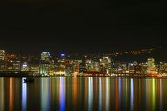 Ciudad de Wellington, Nueva Zelandia Imagen de archivo libre de regalías