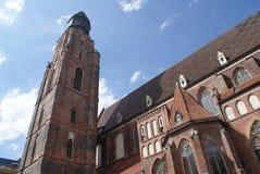 Ciudad de Wroclaw Fotos de archivo libres de regalías