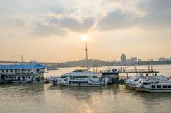 Ciudad de Wuhan, China fotografía de archivo libre de regalías