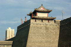 Ciudad de Xi'an Imagenes de archivo