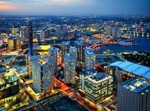 Ciudad de Yokohama Imágenes de archivo libres de regalías