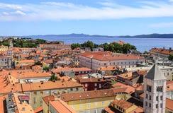 Ciudad de Zadar, Croacia imagen de archivo libre de regalías