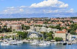 Ciudad de Zadar, Croacia fotos de archivo libres de regalías