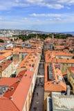 Ciudad de Zadar, Croacia fotos de archivo