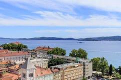 Ciudad de Zadar, Croacia imágenes de archivo libres de regalías