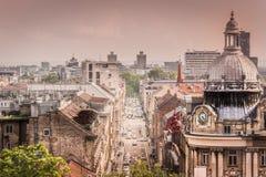 Ciudad de Zagreb en Croacia Foto de archivo libre de regalías