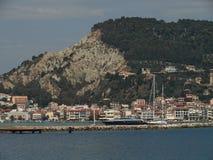 Ciudad de Zante Isla de Zakynthos Grecia Fotos de archivo