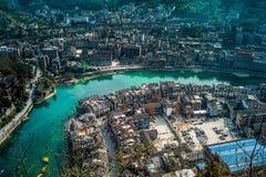 Ciudad de Zhenyuan, Guizhou, China Fotografía de archivo libre de regalías