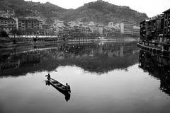 Ciudad de Zhenyuan, Guizhou, China Fotos de archivo