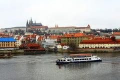 Ciudad de Zlata Praha Imagen de archivo libre de regalías