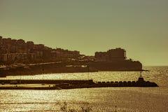 Ciudad de Zonguldak, Turquía Fotos de archivo