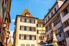 Ciudad de Zurich en Suiza foto de archivo