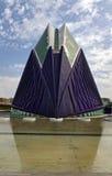 Ciudad del ágora de los artes y de las ciencias Valencia, España Imagen de archivo