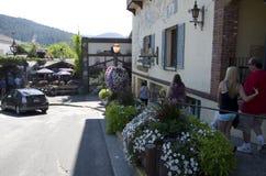 Ciudad del alemán de Leavenworth Fotos de archivo